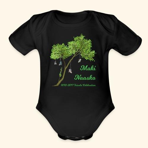 Maki Naasko Toivola Celebration 2017 - Organic Short Sleeve Baby Bodysuit