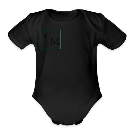 C And M - Organic Short Sleeve Baby Bodysuit