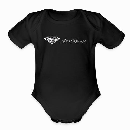DiamondNdaRough Co. - Organic Short Sleeve Baby Bodysuit