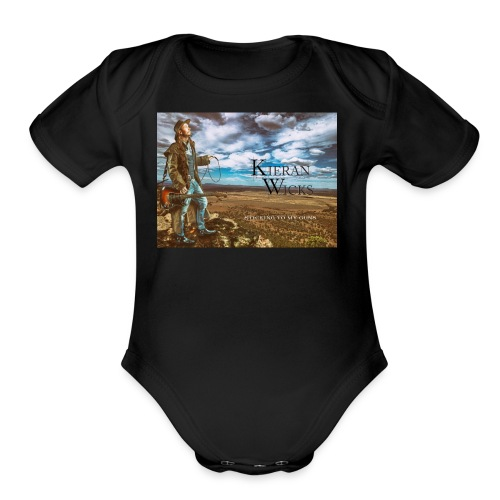 Sticking to My Guns by Kieran Wicks Album Cover - Organic Short Sleeve Baby Bodysuit