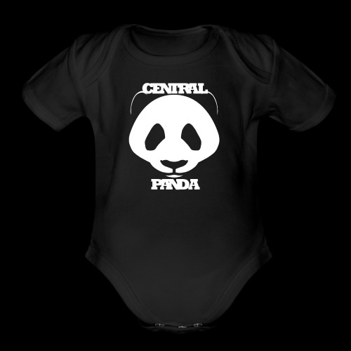 Central Panda - Organic Short Sleeve Baby Bodysuit