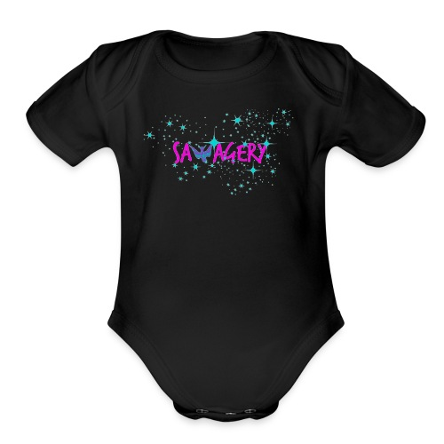 Savagery Merch - Organic Short Sleeve Baby Bodysuit