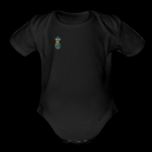 Pineapple Logo - Short Sleeve Baby Bodysuit