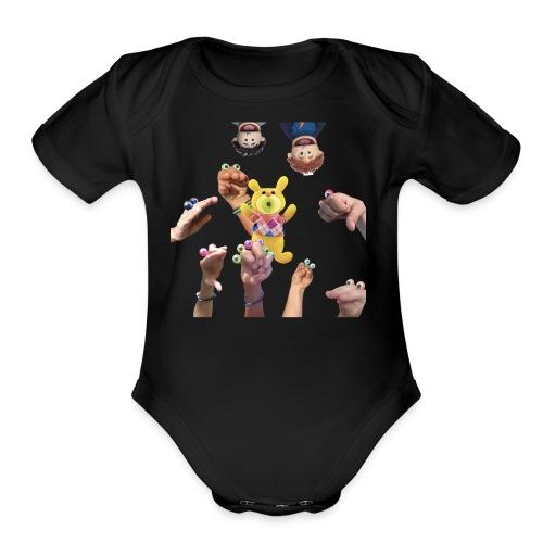 na shirt 3 - Organic Short Sleeve Baby Bodysuit