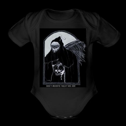 Deceiver - Organic Short Sleeve Baby Bodysuit