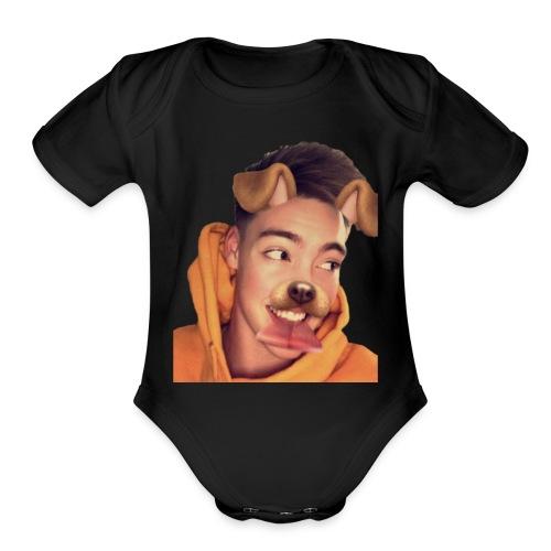 Zach Herron - Organic Short Sleeve Baby Bodysuit
