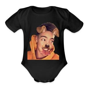 Zach Herron - Short Sleeve Baby Bodysuit