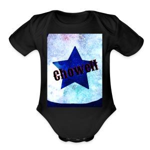 Star in a Galaxy Chowell - Short Sleeve Baby Bodysuit