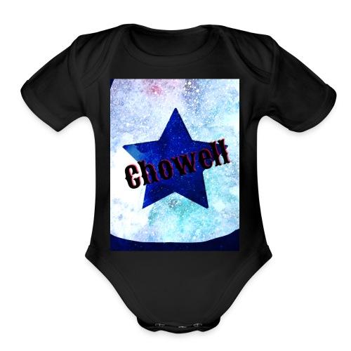 Star in a Galaxy Chowell - Organic Short Sleeve Baby Bodysuit