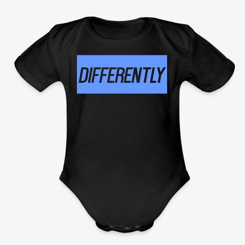 Differently Large Bogo - Organic Short Sleeve Baby Bodysuit