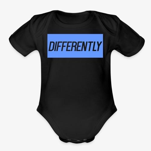 Differently Large Bogo - Organic Short Sleeve Baby Bodysuit