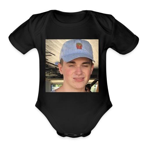 GEORGE - Organic Short Sleeve Baby Bodysuit