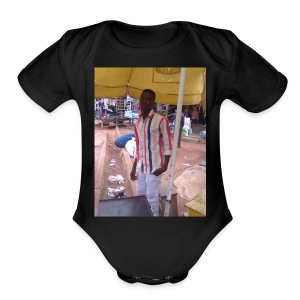 Mr Pallasco - Short Sleeve Baby Bodysuit
