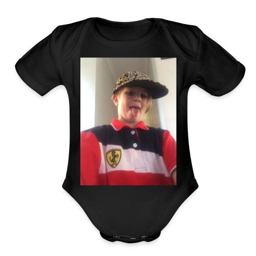6709CC2F 1DF8 4551 AE30 083B41D52F9E - Organic Short Sleeve Baby Bodysuit