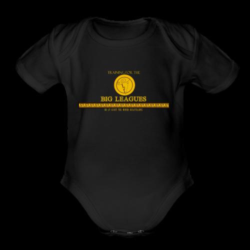 Hercules training - Organic Short Sleeve Baby Bodysuit
