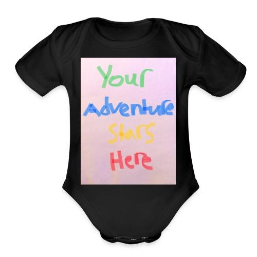 8A678A59 D2D0 482C A235 5D04BF304043 - Organic Short Sleeve Baby Bodysuit
