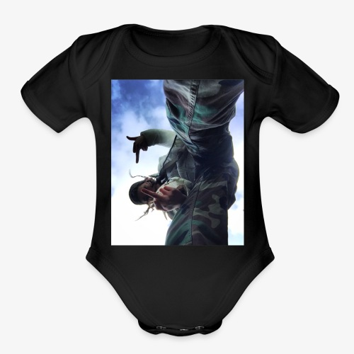 50AC56E3 C237 4569 8825 CD31D7FAAD03 - Organic Short Sleeve Baby Bodysuit