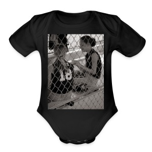 Dugout Princess - Short Sleeve Baby Bodysuit