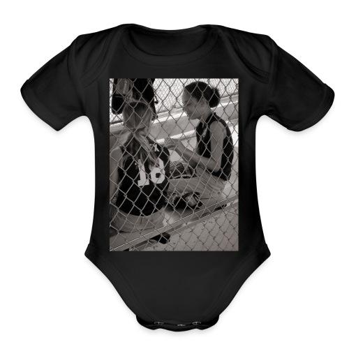 Dugout Princess - Organic Short Sleeve Baby Bodysuit