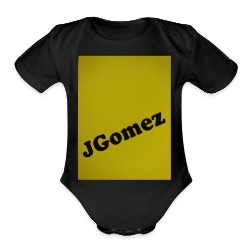J Gomez.com sells all clothing for cheap. - Organic Short Sleeve Baby Bodysuit
