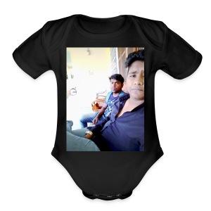 2 creeps - Short Sleeve Baby Bodysuit