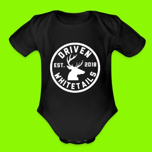 Stay Driven - Short Sleeve Baby Bodysuit