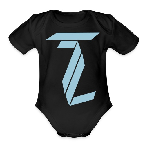 TL - Organic Short Sleeve Baby Bodysuit