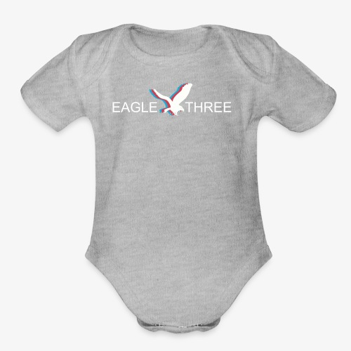 EAGLE THREE APPAREL - Organic Short Sleeve Baby Bodysuit