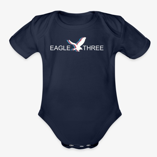 EAGLE THREE APPAREL - Organic Short Sleeve Baby Bodysuit