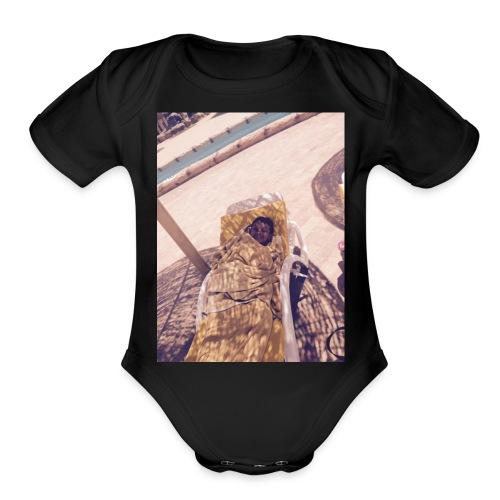rakan - Organic Short Sleeve Baby Bodysuit