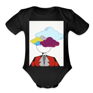 Free your mind - Short Sleeve Baby Bodysuit