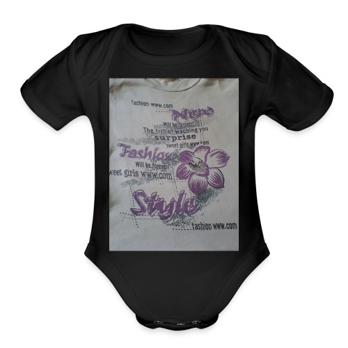 IMG 0171 - Organic Short Sleeve Baby Bodysuit