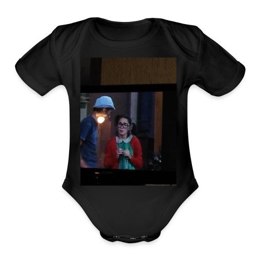 Beyblade master - Organic Short Sleeve Baby Bodysuit