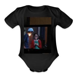 Beyblade master - Short Sleeve Baby Bodysuit