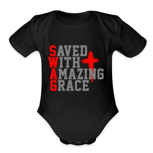 Swag For Christians - Organic Short Sleeve Baby Bodysuit