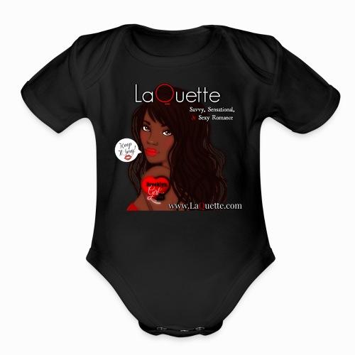 LaQuette-Keep It Sexy - Organic Short Sleeve Baby Bodysuit