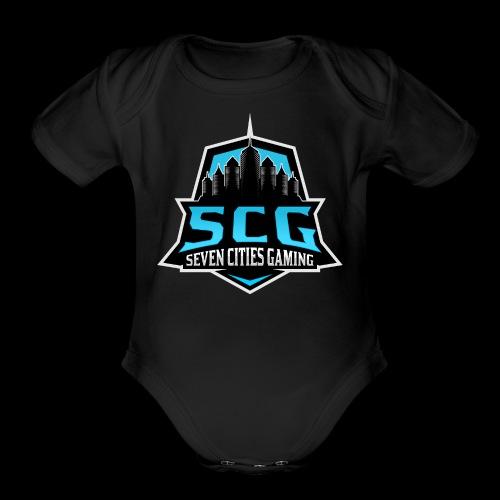 SCG LOGO - Organic Short Sleeve Baby Bodysuit