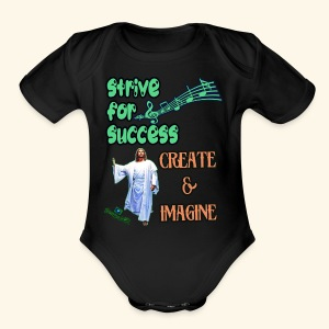 tsunamii244 merch designs market - Short Sleeve Baby Bodysuit