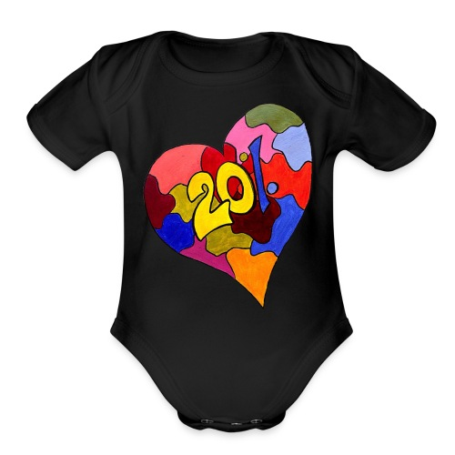 Spread the word: take care of your server! - Organic Short Sleeve Baby Bodysuit