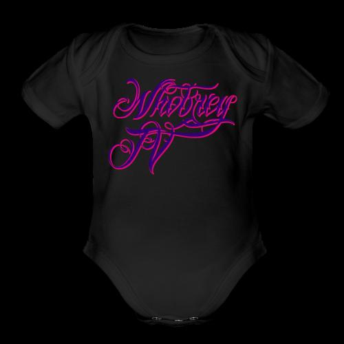 WhobreyTV NS [PuPi] - Organic Short Sleeve Baby Bodysuit