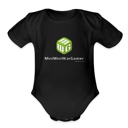 MiniMiniWargamer - Organic Short Sleeve Baby Bodysuit