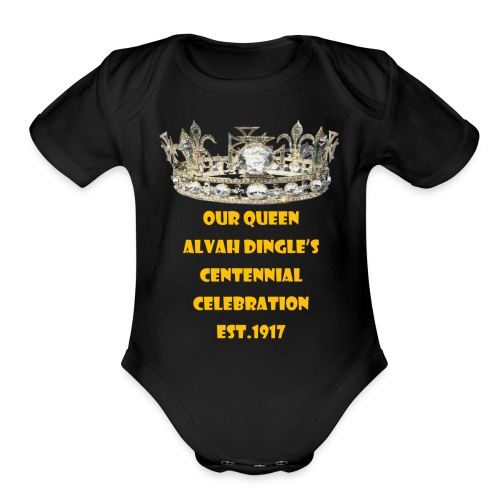 Alvah Dingle's Centennial Celebration Est.1917 - Organic Short Sleeve Baby Bodysuit