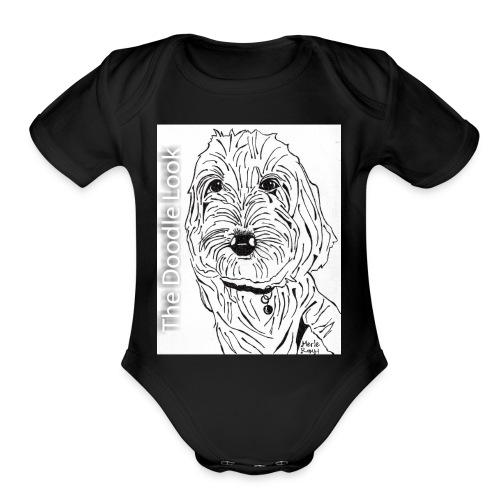 The Doodle Look - Organic Short Sleeve Baby Bodysuit