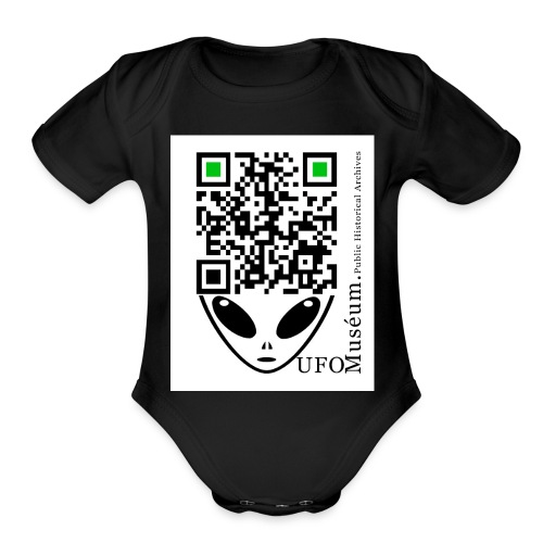 UFO Muséum Public Historical Archives - Organic Short Sleeve Baby Bodysuit
