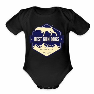 logo color - Short Sleeve Baby Bodysuit