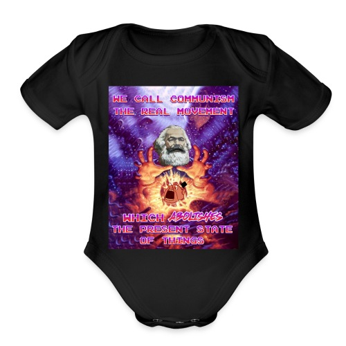 The present state of things - Organic Short Sleeve Baby Bodysuit
