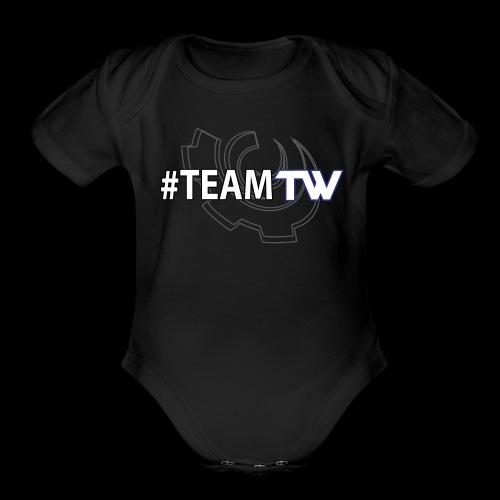 TeamTW - Organic Short Sleeve Baby Bodysuit