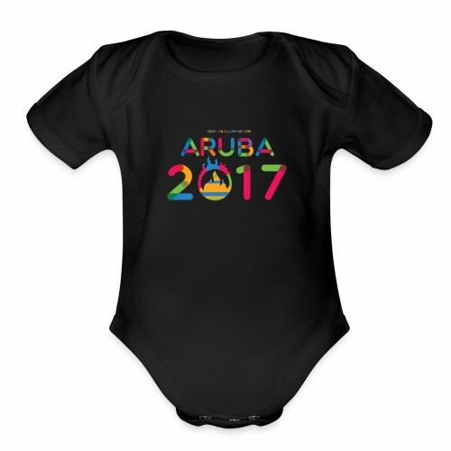 Aruba 2017 - Organic Short Sleeve Baby Bodysuit