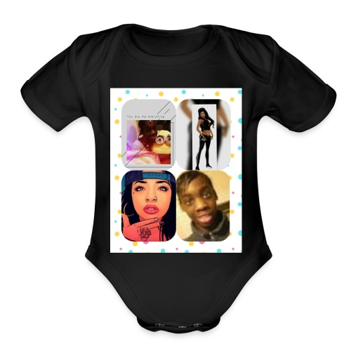 Xpertgrief Time clothed - Organic Short Sleeve Baby Bodysuit