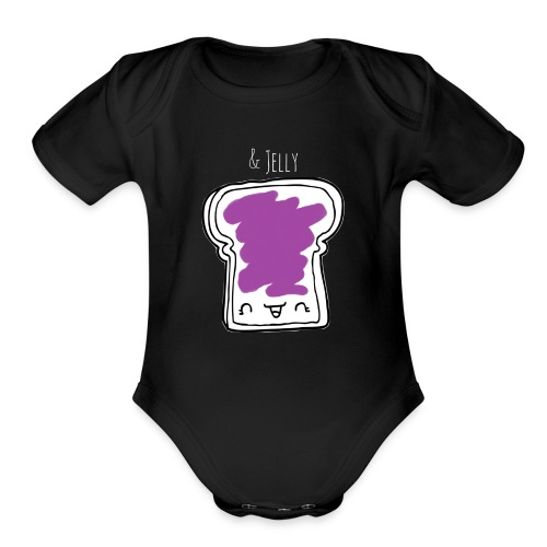 & jelly - Organic Short Sleeve Baby Bodysuit
